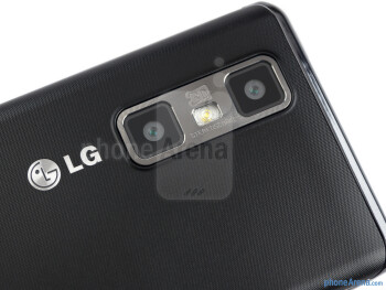 Dual cameras - LG Optimus 3D MAX Review