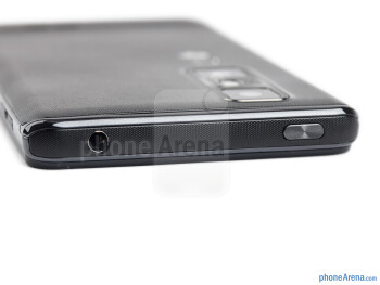 Top - The sides of the LG Optimus 3D MAX - LG Optimus 3D MAX Review