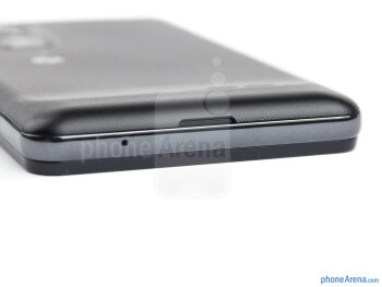 Bottom edge - The sides of the LG Optimus 3D MAX - LG Optimus 3D MAX Review