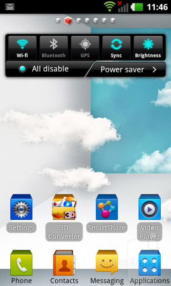 We have LG's Optimus UI on top of Android 2.3 Gingerbread on the LG Optimus 3D MAX - LG Optimus 3D MAX Review