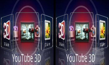 The 3D Space carousel - LG Optimus 3D MAX Review