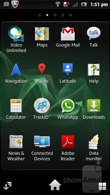 The Sony Xperia sola comes with Android 2.3.7 Gingerbread - Sony Xperia sola Review