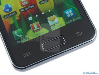 Android buttons - Samsung Galaxy S Advance Review
