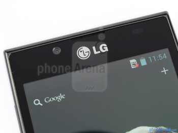 Front-facing camera - LG Optimus L7 Review