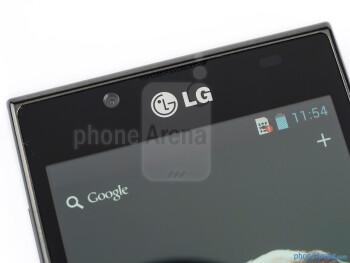 Front-facing camera - LG Optimus L7 Review
