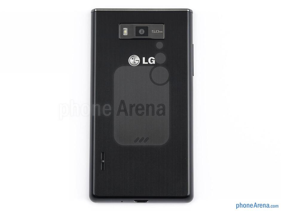 Back - LG Optimus L7 Review