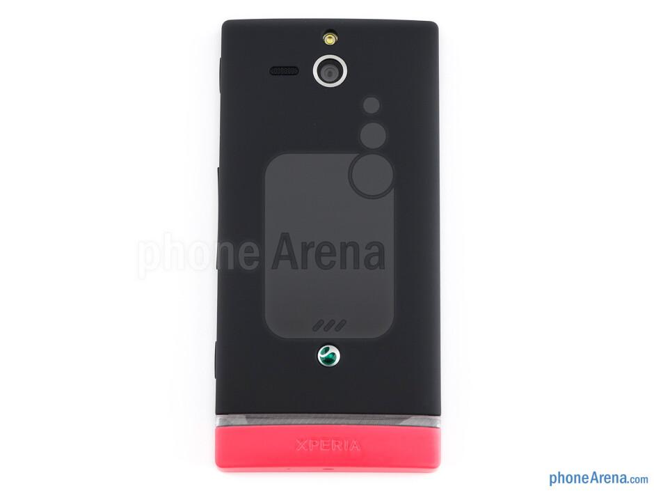 Back - Sony Xperia U Review