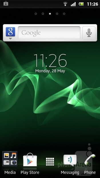 The Sony Xperia U comes with Timescape UI on top of Android Gingerbread - Sony Xperia U Review