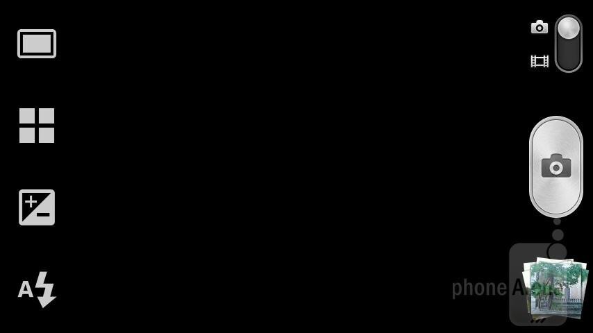 Camera interface - Sony Xperia U Review