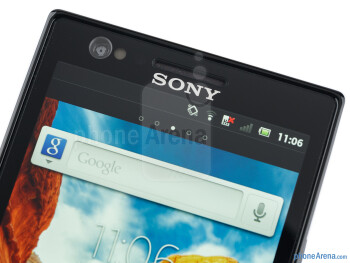 Front-facing camera - Sony Xperia P Review