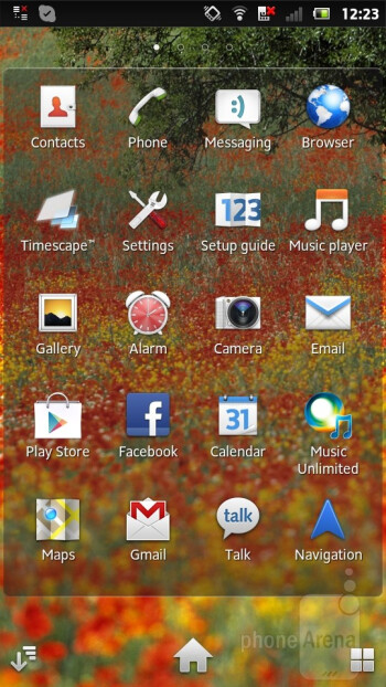 We have the Timescape UI running on the Sony Xperia P - Sony Xperia P Review