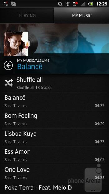 Sony has thrown in a music player of its own - Sony Xperia P Review
