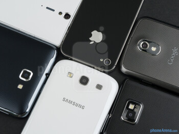 Camera comparison: Samsung Galaxy S III vs the fierce competition