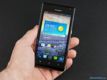 The Huawei Ascend P1 has a compact and stylish with a catchy two-tone design - Huawei Ascend P1 Review