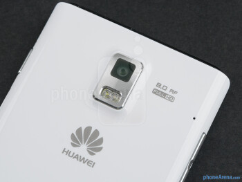 Rear camera - Huawei Ascend P1 Review