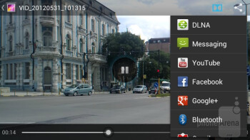 Video player - Huawei Ascend P1 Review