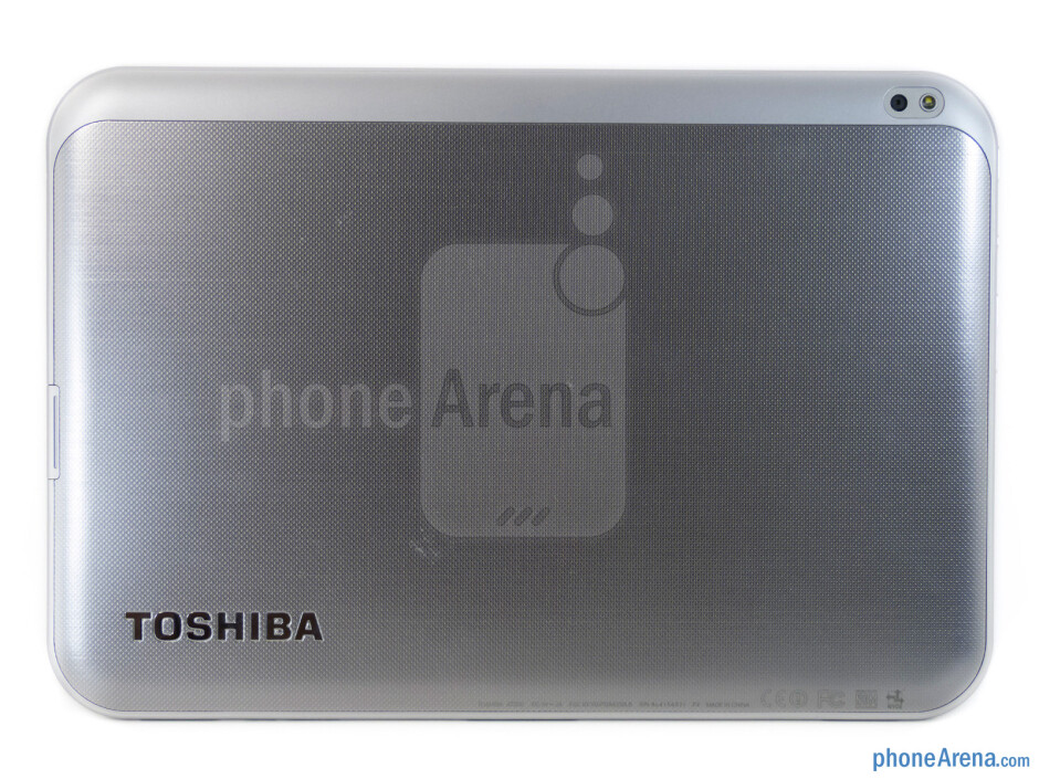 Back - The sides of the Toshiba Excite 10 - Toshiba Excite 10 Review