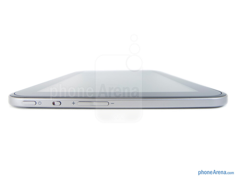The sides of the Toshiba Excite 10 - Toshiba Excite 10 Review