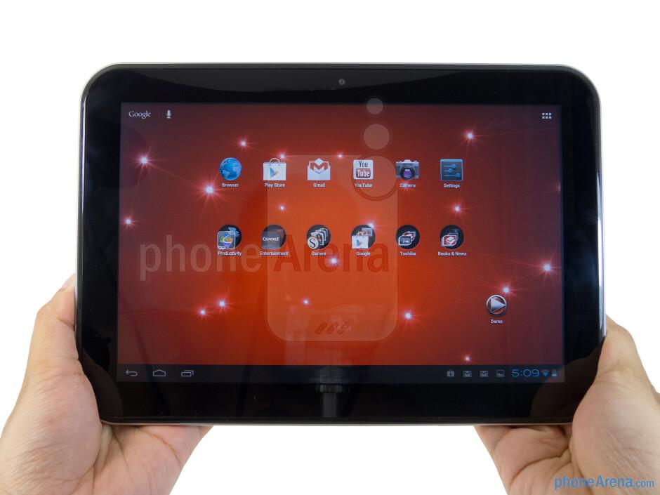 The Toshiba Excite 10 has a very contemporary design - Toshiba Excite 10 Review