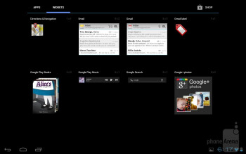Toshiba decided on giving us a stock Android 4.0.3 Ice Cream Sandwich experience with the Excite 10 - Toshiba Excite 10 Review