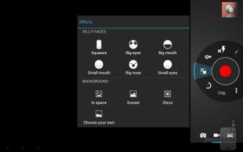 Camera interface - Toshiba Excite 10 Review