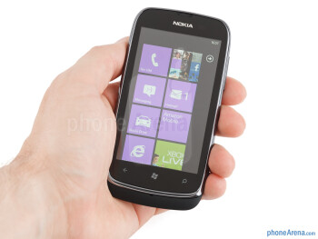 The Nokia Lumia 610 feels well put together, with attention to detail - Nokia Lumia 610 Review