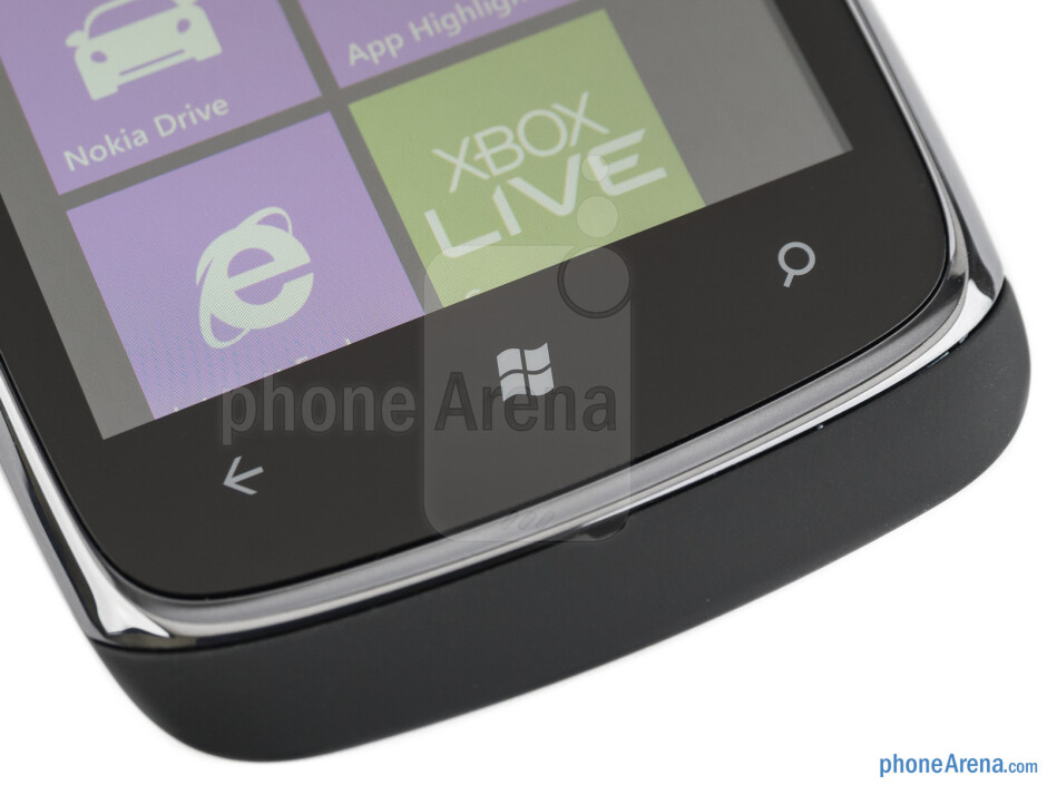 Capacitive Windows Phone keys - Nokia Lumia 610 Review
