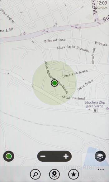 Nokia Maps - Nokia Lumia 610 Review