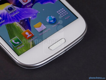 Android buttons - Samsung Galaxy S III Review (AT&T, Verizon, T-Mobile, Sprint)