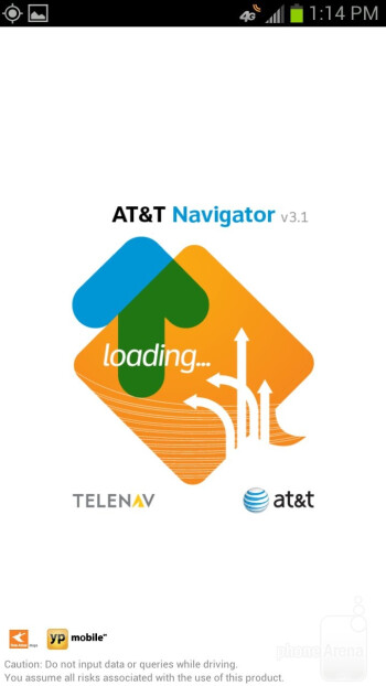 AT&T Navigator - Preloaded apps on the Samsung Galaxy S III - Samsung Galaxy S III Review (AT&T, Verizon, T-Mobile, Sprint)