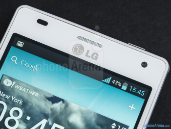 Front-facing camera - LG Optimus 4X HD Review