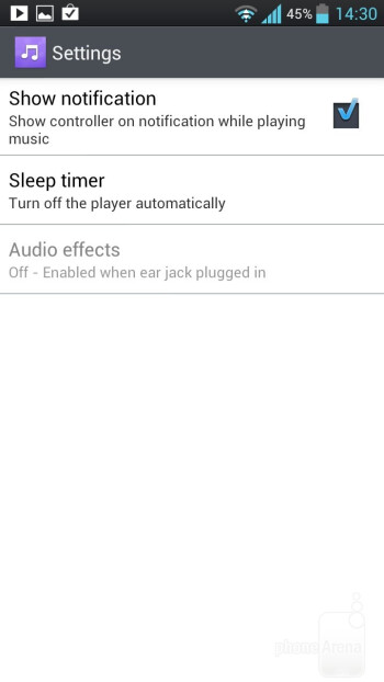 Music playback on the LG Optimus 4X HD - LG Optimus 4X HD vs Samsung Galaxy S III
