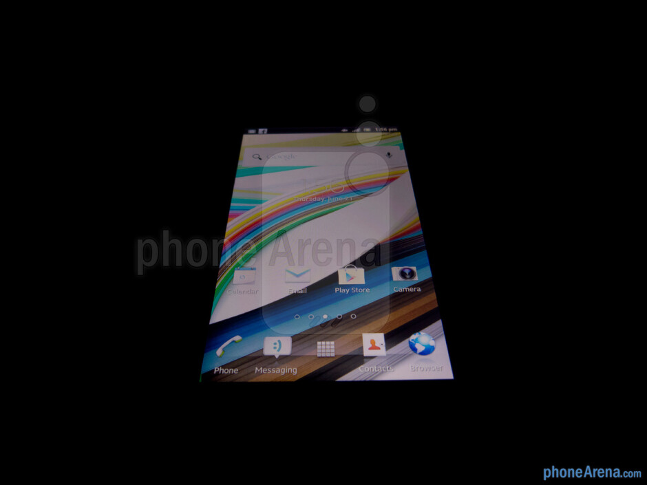 The 4.6'' HD (720 x 1280) Reality Display with Mobile BRAVIA Engine - Sony Xperia ion Review