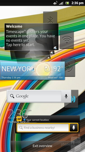 Sony  Xperia ion is running the UXP NXT interface on top of Android 2.3.7  Gingerbread - Sony Xperia ion vs Samsung Galaxy S III