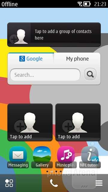 Symbian Belle Feature Pack 1 that's running on the Nokia 808 PureView ...
