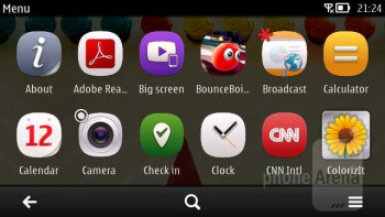 Symbian Belle Feature Pack 1 that's running on the Nokia 808 PureView brings many enhancements - Nokia 808 PureView Review