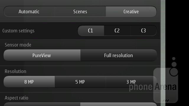 Creative mode - Nokia 808 PureView Review