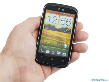 The HTC Desire C has a very sweet, rounded and compact form - HTC Desire C Review