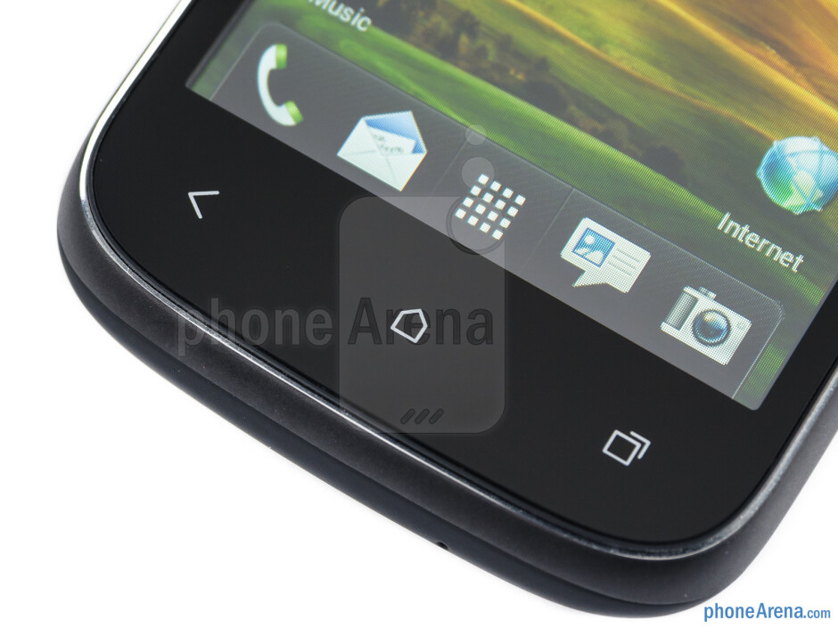 Android navigation keys - HTC Desire C Review