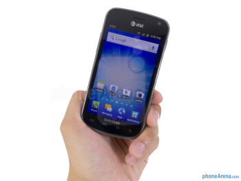 The Samsung Exhilarate is constructed out of 80% recycled plastic - Samsung Exhilarate Review