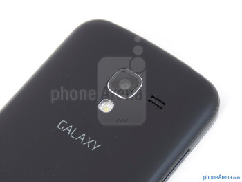 Rear camera - Samsung Exhilarate Review