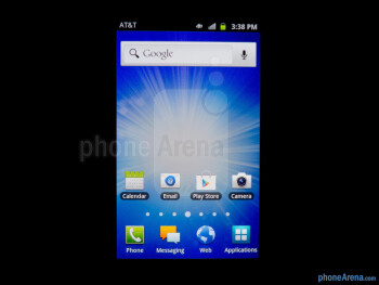 Viewing angles - Samsung Exhilarate Review
