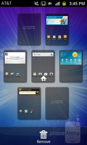 The Samsung Exhilarate is running TouchWiz on top of Android 2.3.6 Gingerbread - Samsung Exhilarate Review