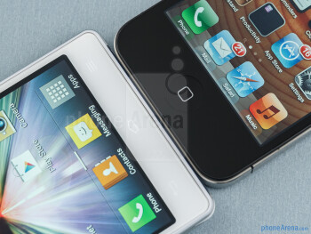 The LG Optimus 4X HD (left) and the Apple iPhone 4S (right) - LG Optimus 4X HD vs Apple iPhone 4S