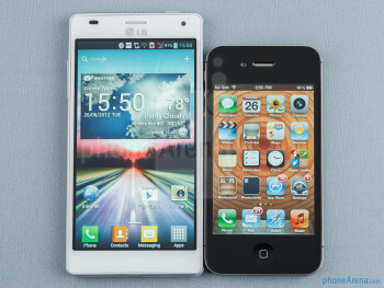 LG Optimus 4X HD vs Apple iPhone 4S