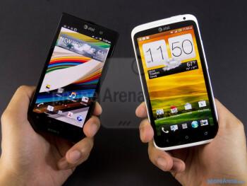 Sony Xperia ion vs HTC One X