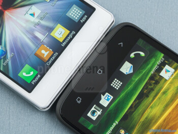 The LG Optimus 4X HD (left) and the HTC One X (right) - LG Optimus 4X HD vs HTC One X