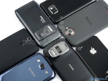 Nokia 808 PureView camera comparison
