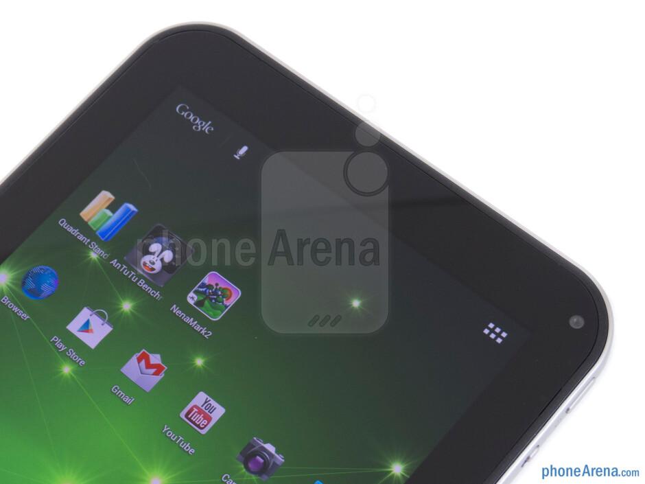 Front-facing camera - Toshiba Excite 7.7 Review