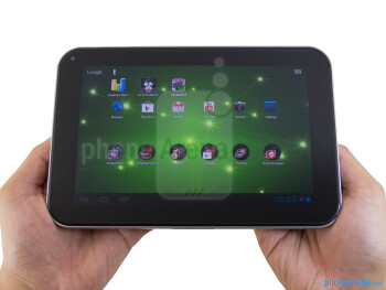 The Toshiba Excite 7.7 is undeniably solid with its overall construction - Toshiba Excite 7.7 Review